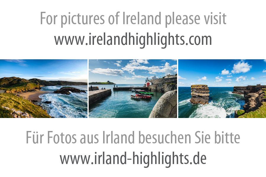 Blick auf die Blasket Islands von Dunmore Head